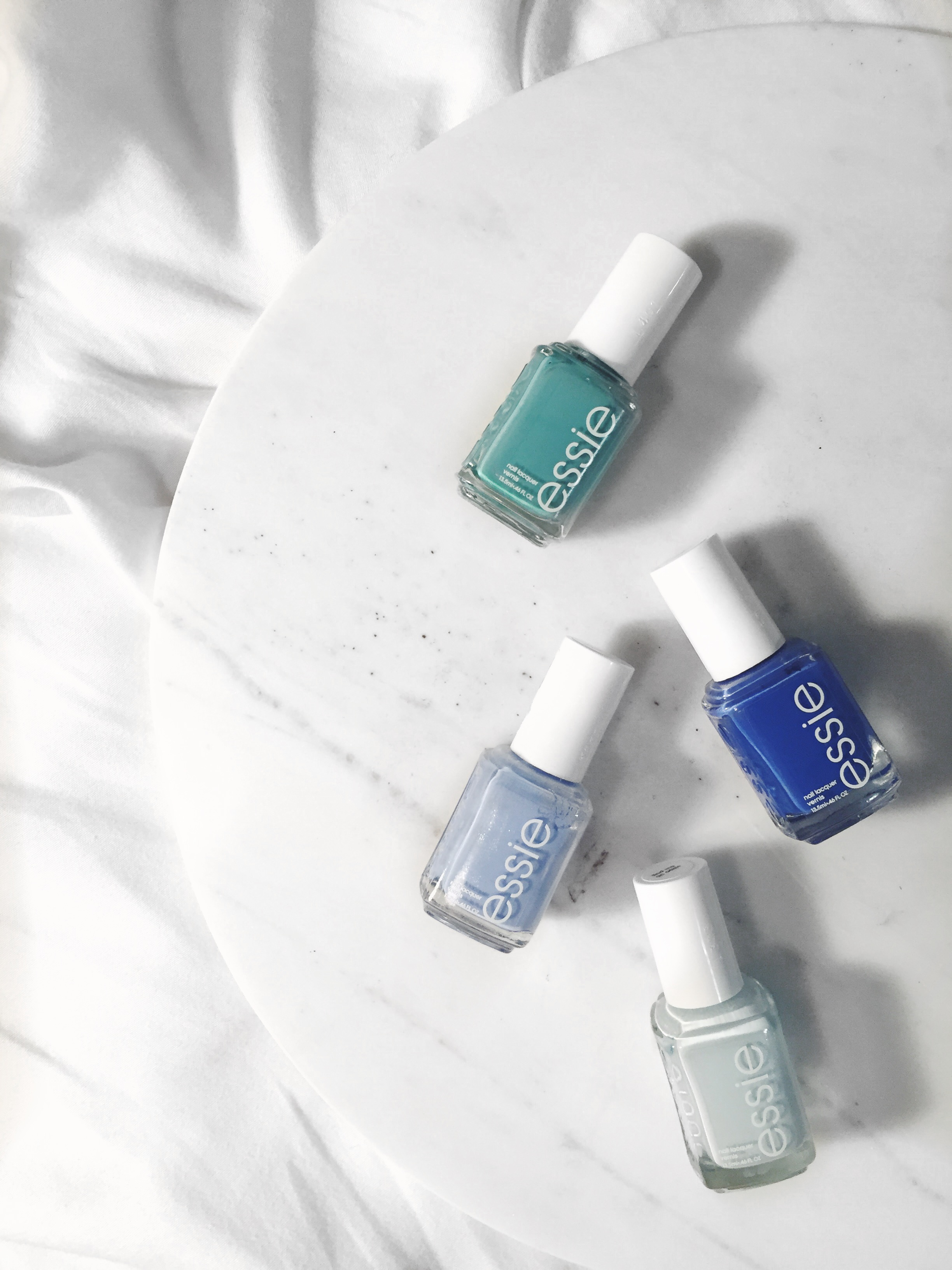 bluenailpolish